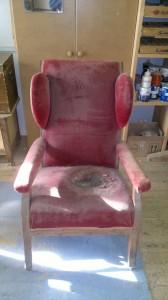 Sessel vorher