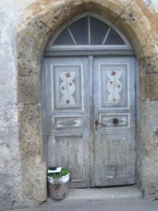 Tür Vorher