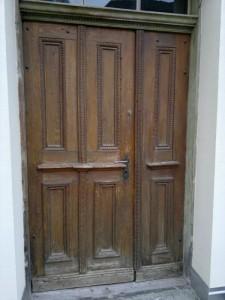 Vorher Tür