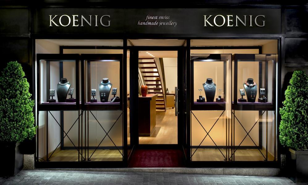 König Zürich Boutique Eingang