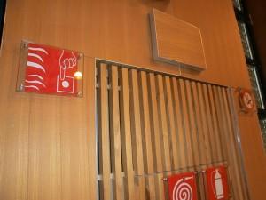 Raiffeisensaal Aquaprad Detail
